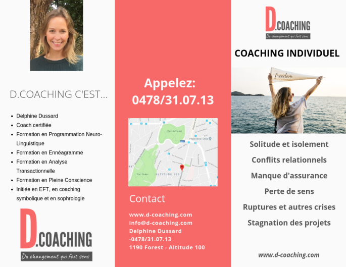 Brochure coaching personnel